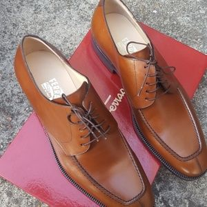 Salvatore Ferragamo Mida Derby Oxford Shoes